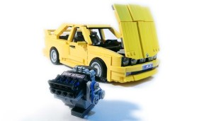 Lego BMW M3 yellow (12)
