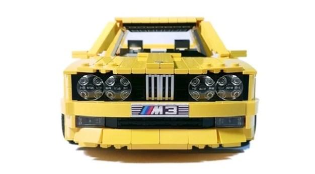 Lego BMW M3 yellow (3)