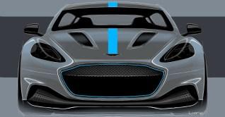 Aston Martin RapidE sketch 2