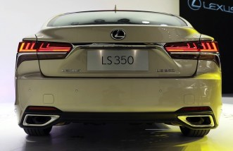 Lexus LS 350 China 3