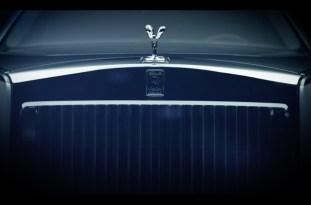 2018 Rolls-Royce Phantom teaser 1