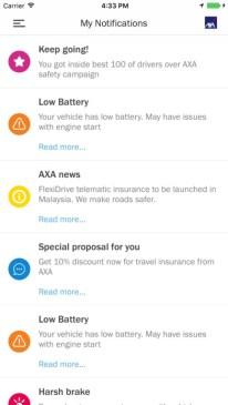 AXA FlexiDrive screenshots 1
