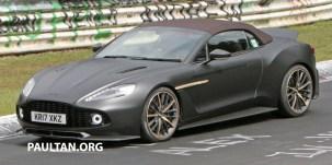 Aston Martin Vanquish Zagato Volante 5