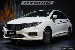 Honda City Hybrid 3