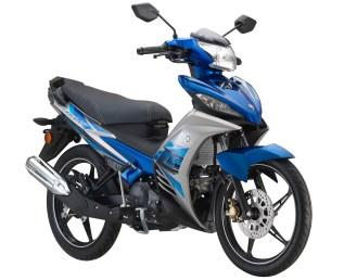2017 Yamaha Y135LC Blue - 5