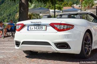 2018 Maserati GranCabrio review 9