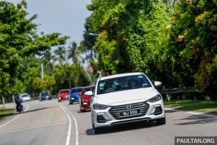 Hyundai Elantra Moving Shot-5