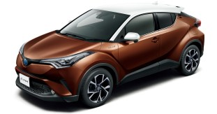 Toyota C-HR two-tone colour 2