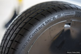 2017 Continental MaxContact MC6 Tyre Launch