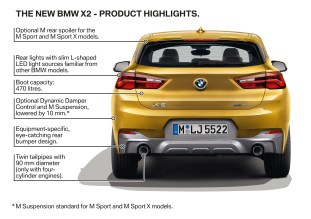 F39 BMW X2 highlights 13