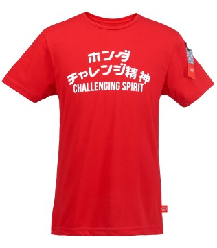 05 New Honda Merchandise_Men's Challenging Spirit T-shirt