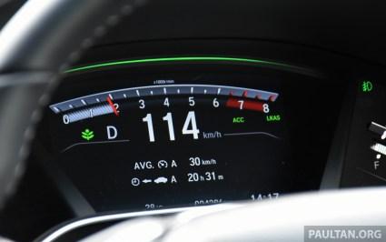 2017 Honda CR-V Malaysia drive-33