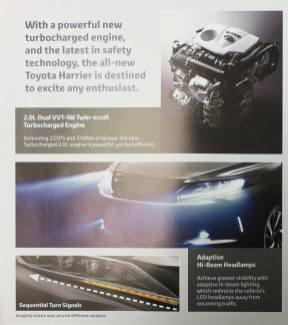2018 Toyota Harrier Malaysia 8_BM