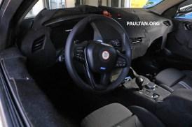 BMW 1 Series next-gen interior spyshots 1
