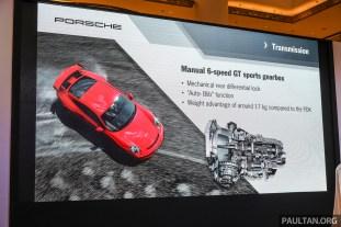 Porsche 911 GT3 Launch-3