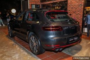 Porsche Macan Sportdesign 40 Units Only Rm545k