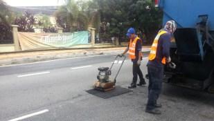 Waze pothole Selangor report 10