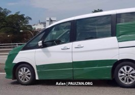 2018 Nissan Serena spied Malaysia 5