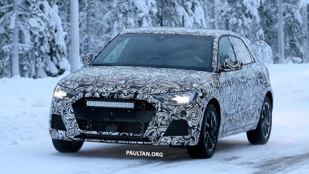 2019 Audi A1 Spyshots-21