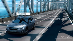 EyeSight - Lane Departure and Lane Sway Warning