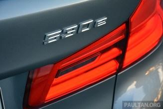 G30 BMW 530e Review 18