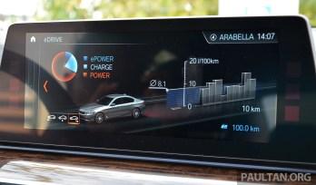 G30 BMW 530e Review 46