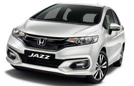 Honda Jazz White Orchid Pearl