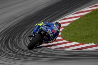 Sepang winter test 2018 - Suzuki BM-2