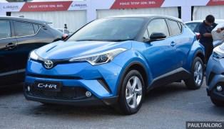 2018 Toyota C-HR handover 11 BM