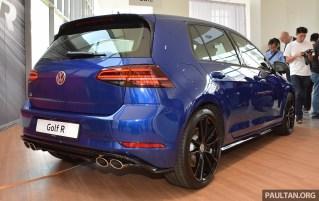 2018 Volkswagen Golf R launch 3_BM