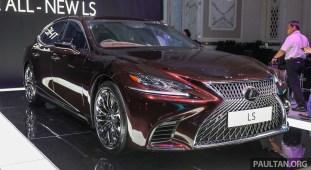 Lexus LS500 2018 Launch Sonic Agate_Ext-1