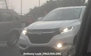 2018 Honda HR-V facelift spotted 2