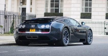 Bugatti Veyron F1 plate 2