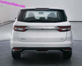 Geely VF11 MPV Leaked-2