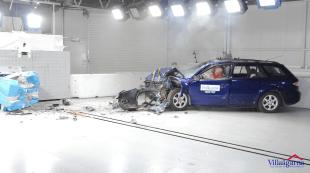 Rusty Cars Euro NCAP crash test3