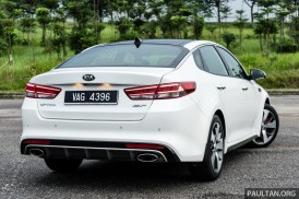 2017 Kia Optima GT Review