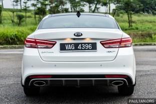 2017 Kia Optima GT Review