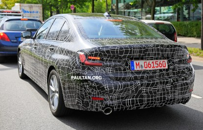 G20 BMW 3 Series Spy May 2018-16