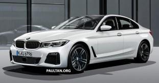 G20 BMW 3 Series Theo render 1