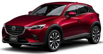 Mazda CX-3 facelift Japan 4