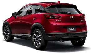 Mazda CX-3 facelift Japan 5