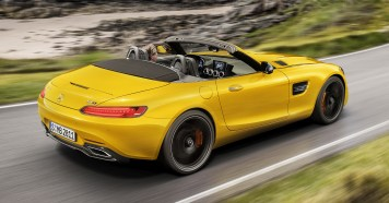 Der neue Mercedes-AMG GT S Roadster: Open-Air-Zuwachs für die AMG GT Familie