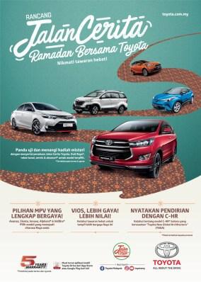 TOYOTA-Raya Sales Promo Leaflet - BM