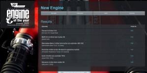 2018 IEOTY new engine winner