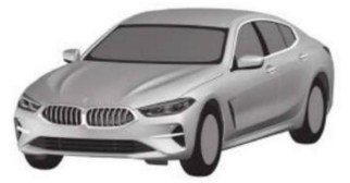BMW 8 Series Gran Coupe patent