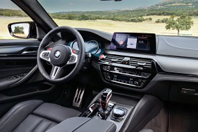 2018 BMW M5 Competition Official Photos_Interior