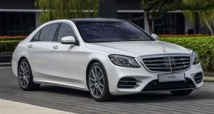 2018 W222 Mercedes-Benz S450L (2)