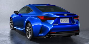 Types Of Lexus >> 2019 Lexus Rc Gets A Facelift And Handling Updates