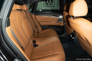 2018 BMW 6 Series GT Interior