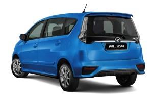 2018 Perodua Alza SE facelift 2